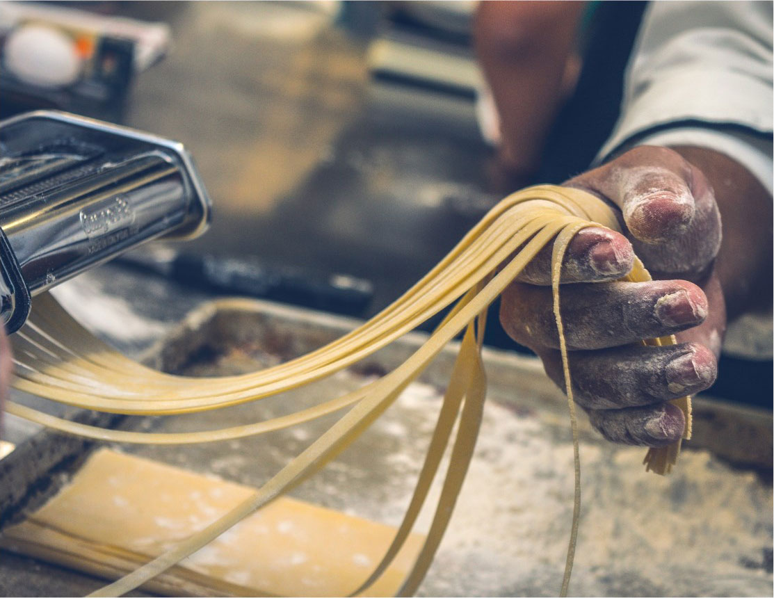 Fresh pasta, a tradition that will be lost.