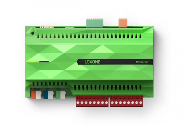 Miniserver Loxone- jednostka centralna inteligentnego domu.